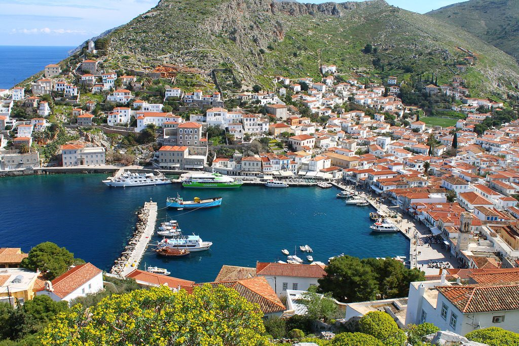 7 day yacht trip to south peloponnese