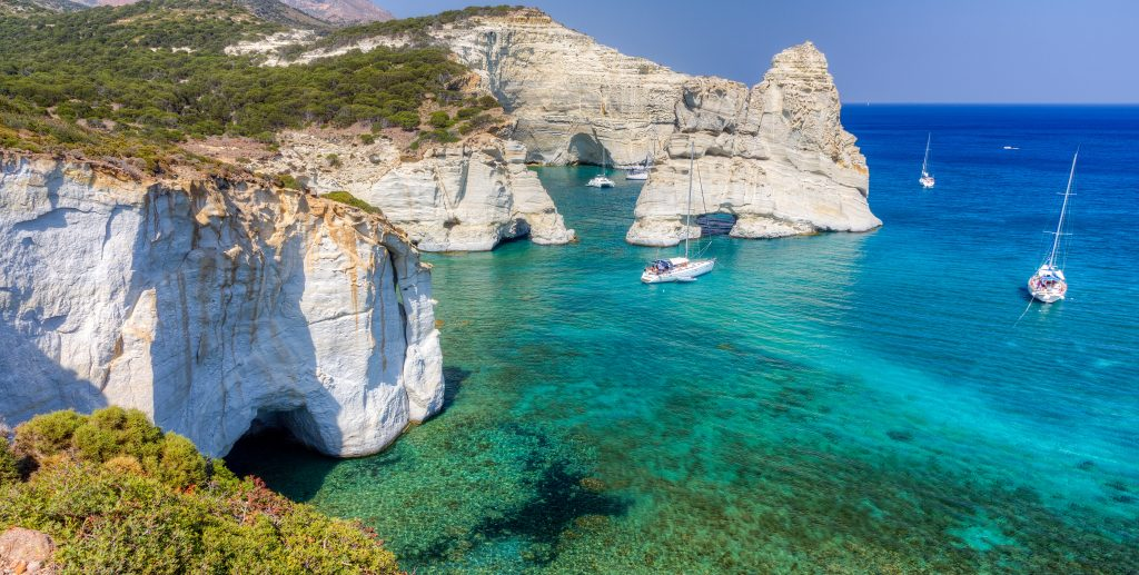 7 Day Luxury Yacht Trip - Athens to Milos