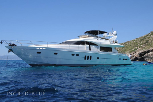 Yacht rent Princess 23M in Puerto de Palma, Mallorca