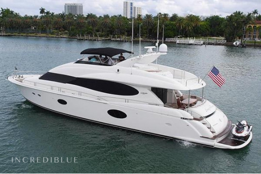 Yacht rent Lazzara  84' in Miami Beach, South Florida
