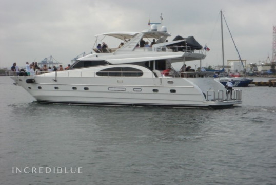 Yacht rent Custom 74 in Punta Iguana club náutico, Cartagena de Indias