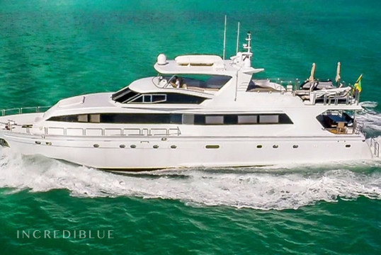 Yacht rent Azimut 102' in Miami Beach, South Florida