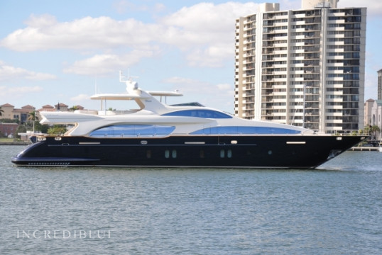 Yacht rent Azimut 116ft in Miami Beach, South Florida
