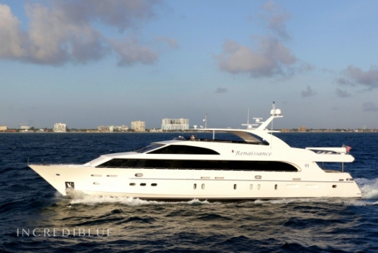 Yacht rent Hargrave 116ft in Key West Harbour, Florida Keys