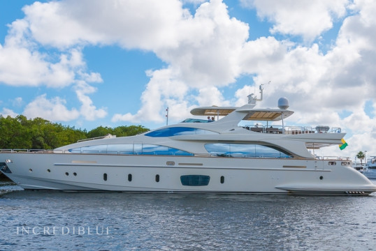 Yacht rent Azimut 105' in Miami Beach, South Florida