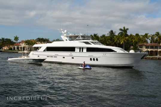 Yacht rent Hatterras 100ft in Miami Beach, South Florida
