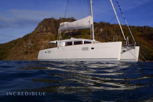 Catamaran rent Lagoon  450 in Port du Marin, Martinique