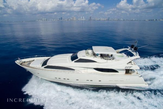 Huur jacht Ferretti 94ft in North Palm Beach, Zuid-Florida
