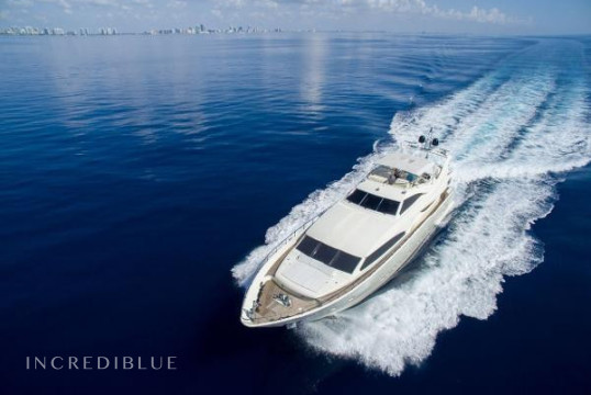 Yacht rent Ferretti 94ft in Miami Beach, South Florida