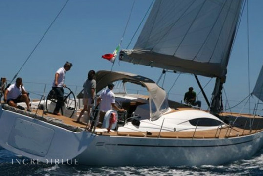 Sailing boat rent Custom Comet 62 in Lipari, Sicily