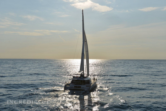 Catamaran rent Custom Sunreef 62 in Port de Sant Antoni, Ibiza