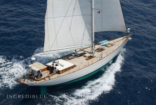 Sailing boat rent Custom made K and M Yachtbuilders in Falmouth Harbour Marina, Antigua and Barbuda