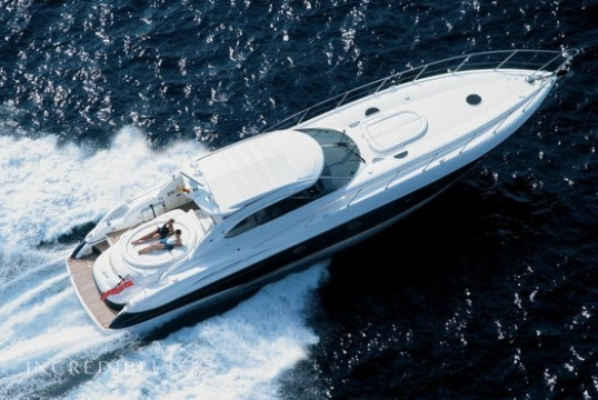 Yacht rent Sunseeker Predator 58 in Port d'Eivissa, Ibiza