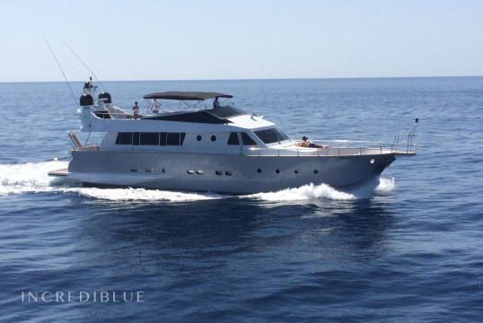 Yacht rent Baglietto 24M in Ses Salines, Ibiza