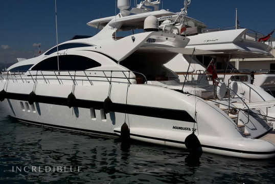 Yacht rent Mangusta 72 in Port Pierre Canto, Alpes Maritimes - Cannes