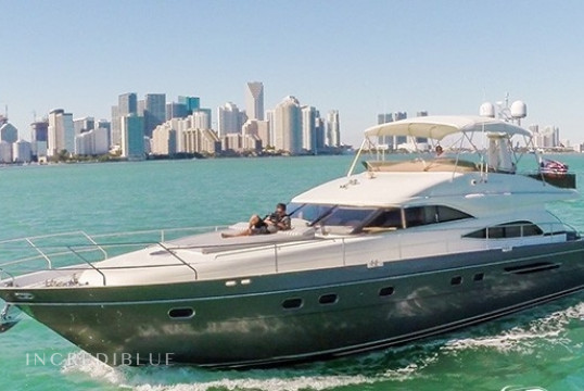 Louer yacht Princess 65ft, Miami Beach, Floride du Sud