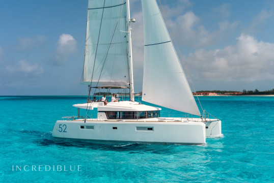 Catamaran rent Lagoon  52 F with watermaker & A/C - PLUS in Hodge's Creek Marina, British Virgin Islands