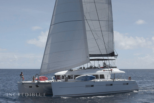 Louer catamaran Lagoon  620 Crewed, Port Louis Marina, Grenade