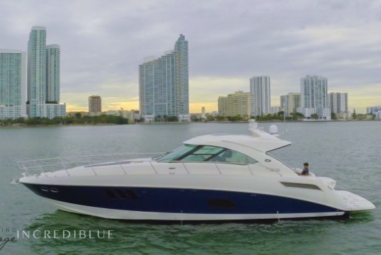 Motorboat rent Sea Ray 54 ft Sea Ray in Downtown Miami, South Florida