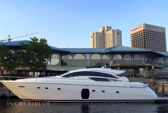 Yacht rent Pershing 72ft Pershing in Miami Beach, South Florida