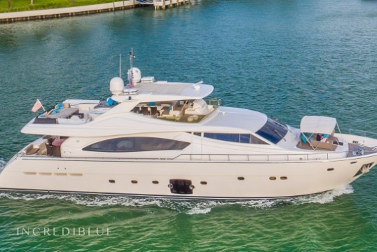 Yacht rent Ferretti 88 in Fort Lauderdale , South Florida