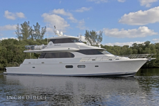 Yacht rent Symbol 85' in Key Largo Harbor Marina, Florida Keys