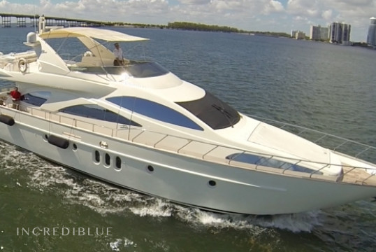 Yacht rent Azimut 80' in Miami Beach, South Florida