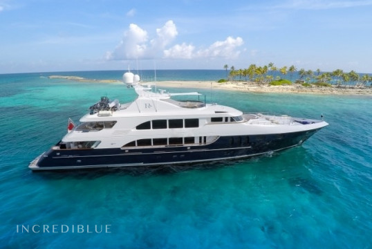 Yacht rent Trinity 154ft in Nassau, Bahamas