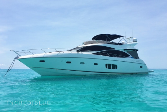 Yacht rent Sunseeker 73' in Joma Marina, British Virgin Islands