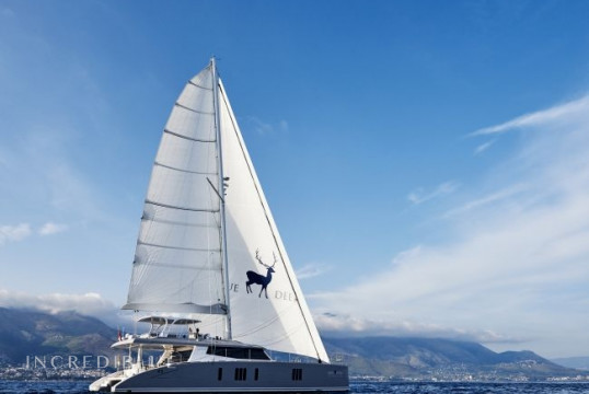 Catamaran rent Sunreef Yachts - in Santa Lucia Napoli, Campania