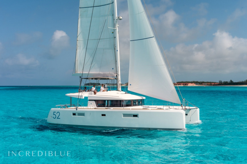 Lagoon  52 F Skippered .O.V. with watermaker & A/C - PLUS