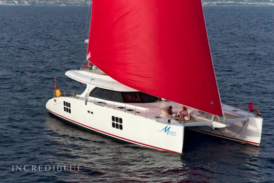 Katamaran chartern Sunreef Yachts Sunreef 70 Crewed, Port Pin Rolland, Var