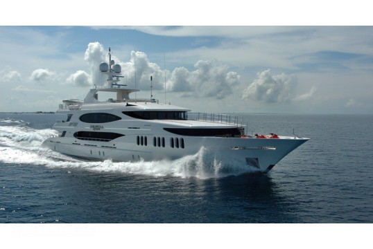 Yacht rent Trinity 164ft in Albany Marina, Nassau