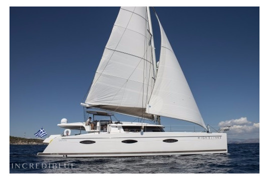 Catamaran rent Fountaine Pajot Sanya 57 in Marina Kalamaki, Athens