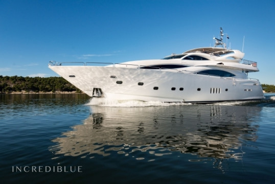 Прокат моторных яхт Sunseeker International 105, Port Trogir, Сплит, Хвар