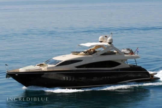Noleggiare yacht Sunseeker International Sunseeker Yacht 86 a ACI Marina Split, Spalato e Hvar