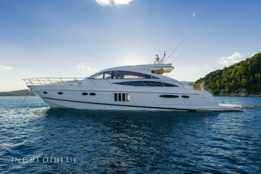 Прокат моторных яхт Princess Yachts Princess V65 - 3 cab., ACI Marina Split, Сплит, Хвар