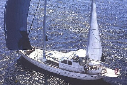 Sailing boat rent Cheoy Lee 87' in Ile de Saint Martin, Saint Martin