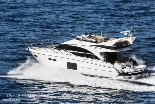 Прокат моторных яхт Princess 56, Porto di Sorrento, Кампания