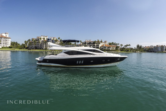 Yacht rent Sunseeker Manhattan 75 in Miami Beach, South Florida