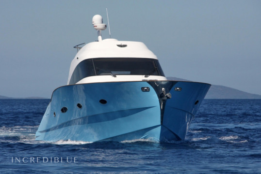 Motorboat rent Custom Lobfish 57 in Marina Di Portisco, Sardinia