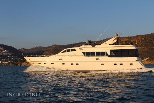 Yacht rent Montefino 75 in Empuriabrava, Girona