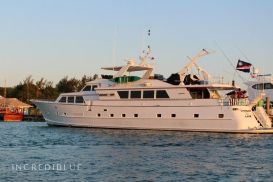 Yacht rent Broward 33m in Yacht Haven Marina, Nassau