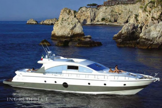 Прокат моторных яхт Aicon Yachts Aicon 72, Porto dell'Etna, Рипосто