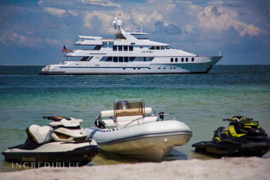 Yacht rent Christensen Shipyards 145ft in Key West Harbour, Florida Keys