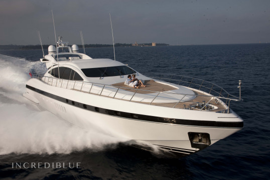 Huur jacht Mangusta 92 in Port Pierre Canto, Alpes Maritimes - Cannes