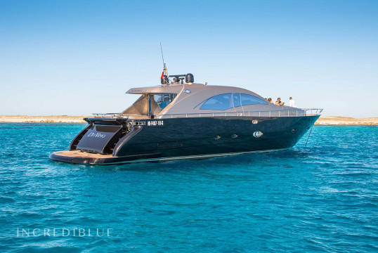 Yacht rent Leopard Leornard 72 Open in Port d'Eivissa, Ibiza