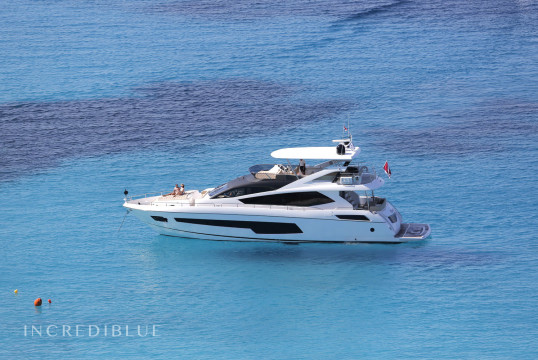 Yacht rent Sunseeker 75 in Port d'Eivissa, Ibiza