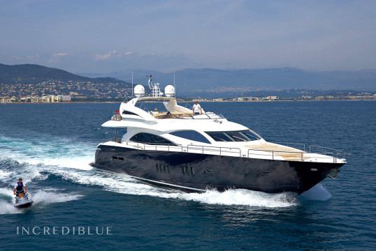 Yacht rent Sunseeker 90 in Port d'Eivissa, Ibiza