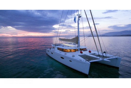 Catamaran rent Fountaine Pajot Galathea 65 in Marina Kalamaki, Athens